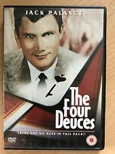 JACK PALANCE WARREN BERLINGER The Four Deuces ~ 1975 Acción SUSPENSE GB DVD