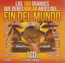 CD - Las 100 Grandes Que Debes Bailar NEW Fin Del Mundo 4 CD's FAST SHIPPING !