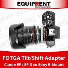 FOTGA Tilt/Shift Objektivadapter Canon EF / EF-S auf Sony NEX E-Mount (EQY81)