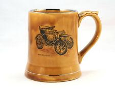 Vintage Wade Veteran Car Club Series Baby Peugeot Honey Brown Glazed Mug Tankard