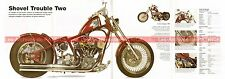 HARLEY DAVIDSON 1442 Shoved Trouble Two 1980 Fiche Moto 000519