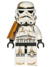 LEGO STAR WARS - Stormtrooper (Tatooine) with Orange Pauldron - Mini Figure