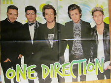 One Direction, Ariana Grande, Double Sided Four Page Foldout Poster