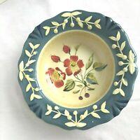 Vintage Certified International Flora Pamela Gladding Design Pasta Soup Bowl VGC