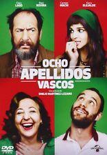 Ocho Apellidos Vascos [DVD] en Castellano NUEVO 8 Dani Rovira Lago Machi Karra