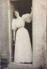 Raphael COLLIN (1850-1916) L'Estampe Moderne Le Départ 1899 art nouveau
