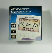 Emerson Large DisplayTalking Caller ID Tested 60 Number Memory New Open Box