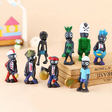 8x Plants vs Zombies Action Figures Kids Figurines Set Toy Cake Topper Car Decor