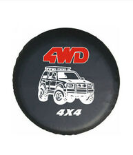 """SUV 4WD Off-road 15""""Inch Spare Wheel Tire Cover Universal Fit for All Car Size M"""
