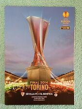2014-europa league final programme-sevilla v benfica