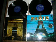2LP PARIS Melodien einer Weltstadt - ungespielt MINT- Bardot Brel Piaf Brassens