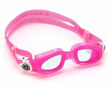 Aqua Sphere Moby Kid - Kids Swimming Goggles - Clear Lens - Pink (175510)