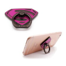 Justice League Superman Finger Ring Buckle Holder Stand Mount for Cell Phone