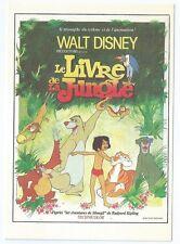 """CPM -Carte postale WALT-DISNEY  Affiche de film"""" LE LIVRE DE LA JUNGLE """""""