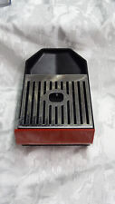 Parts DeLONGHI NESPRESSO EN520 Drip Tray with Lift Grate in metal has Red front
