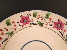 Rare S&J Rathbone Plate English Porcelain Bowl Pattern #106