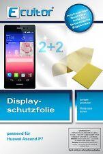 4x (2+2) Huawei Ascend P7 Film de protection d'écran protecteur cristal clair