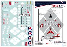 1/32 Canadair Sabre - RCAF Lancers Aerobatic Team Decal DEKL's II