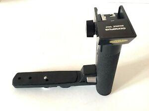 Vintage 1980s Olympus bounce grip left hand camera grip bracket for camera flash