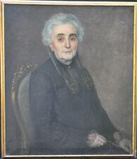 Rare 1926 Original Oil Painting By Listed German Artist-Hermann Hirsch-Portrait