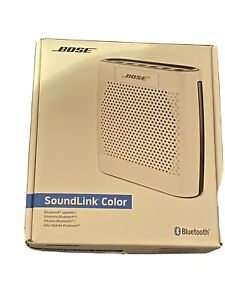 Bose SoundLink Color Bluetooth Speaker (White) **Please Read Description