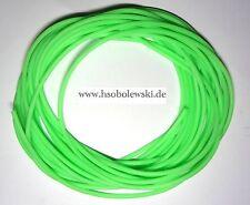je 1m,5m Leuchtschlauch=6mm=Fluo-grün=selsbtleuchtend= Rarität