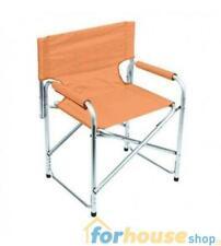 Sedia regista alluminio elite telo oxford arancio