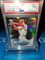 PSA 9 MINT~2018 Topps Chrome Shohei Ohtani Freshman Flash Rookie #FF-1 RC🔥⚾️🚀