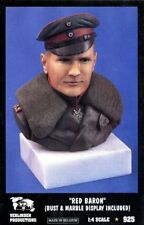 Verlinden 1:4 Red Baron Bust & Marble Display included Resin Bust Kit #925
