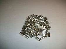 Lot of 100 RG58 Ferrule RG 58 - New - Craft Jewelry