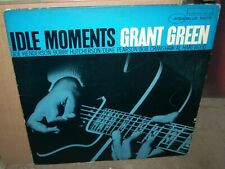 GRANT GREEN idle moments ( jazz ) blue note 4154 mono RVG & EAR