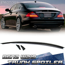 Painted 3 Piece Mercedes BENZ CLS W219 Sedan B Style Trunk Spoiler CLS550 04-10