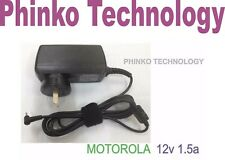 NEW 12V 1.5A AC Adapter Charger Power Supply For MOTOROLA XOOM Android Tablet