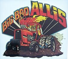 Original Big Bad Allis Chalmers Tractor Truck Iron On Transfer