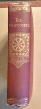 THACKERAY: THE NEWCOMES, c 1885. RARE and with  INTRIGUING BOOKPLATE/PROVENANCE