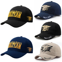 New Arm Baseball Cap Navy Seal Tactical Snapback Hat Adjustable For Men Women