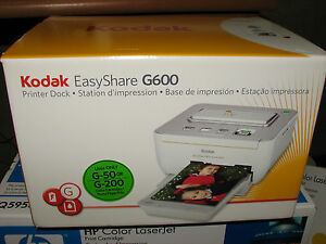 Kodak EasyShare G600 Printer Dock Digital Photo Thermal Printer  *New*