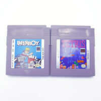 Nintendo PAPERBOY & TETRIS Game Boy Cartridges