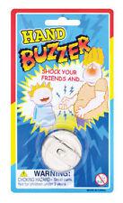 METAL HAND BUZZER Joke funny prank party bag filler stocking filler trick ring