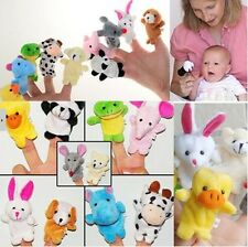 10pcs Story Telling Finger Puppets Farm Animals Toys Baby Story Learning Toys-LG