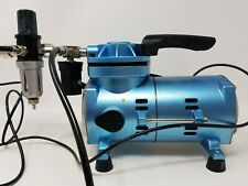 Sparmax H.P:1/8 Single Cylinder Mini Air Compressor Airbrushing Art