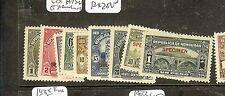 HONDURAS (P1008B) 1934   SET EX ARCHIVES SURCH SPECIMEN MNH