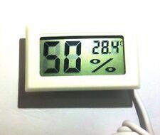 Termometro Idrometro Digitale con sonda esterna   -50°C +70°C  10%RH ~ 99%RH