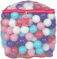 Colorful Plastic Play Balls for Kids Baby Pool Pit Crush Proof BPA Free 200pcs
