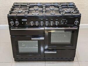 RANGEMASTER PROFESSIONAL PLUS ALL GAS RANGE COOKER 110CM BLACK A634