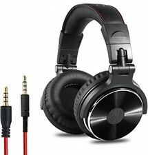 OneOdio Adapter-free Closed Back Over-Ear DJ Stereo Monitor Headphones, Studio