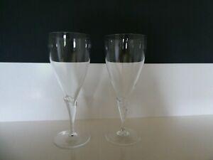 Rosenthal Studio Line Calice klar 2x Pilsner Gläser Biergläser Neuwertig