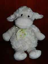 "14"" Best Made Toys Lamb Sheep Plush Stuffed Animal Target Cream Polka Dots Bow"