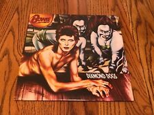 DAVID BOWIE DIAMOND DOGS LP RCA BLACK LABEL ~ DYNAFLEX ~ 1974