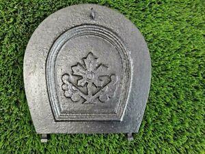 cast iron soot flap damper plate-Original arched damper choke plate item